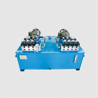 钢壳炉夜压系统(采用双泵双系统)